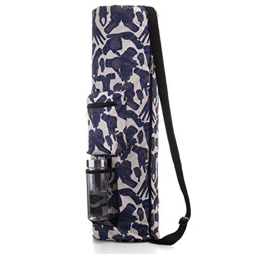 RoryTory Yoga Mat Bag W/Adjustable Strap, Water Bottle